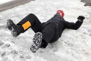 Slipped On Ice