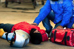 Welder Injured At Work